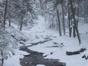 Montes de valsain nevados